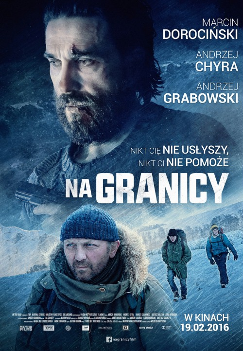 """Oficjalny plakat reklamowy filmu """"Na granicy"""""""